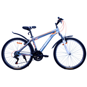 Велосипед Pioneer City T 19'' white/black/red