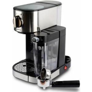 Кофеварка Polaris PCM 1519AE, серебристый/черный