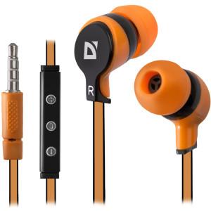 Наушники Defender Pulse-450, оранжевый
