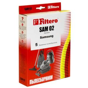 Пылесборники Filtero SAM 02 Стандарт 5 шт