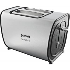 Тостер Gorenje T900E, белый/серебристый