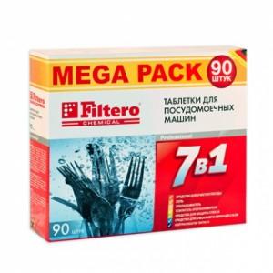 Таблетки для ПММ Filtero 7 в 1, 90 штук