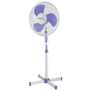 Вентилятор Scarlett SC-SF111B10, белый/фиолетовый