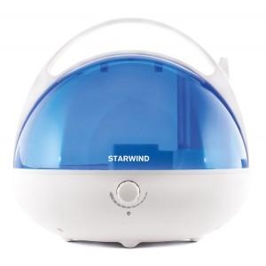 Увлажнитель воздуха StarWind SHC2416, белый/синий