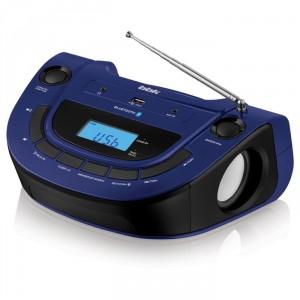 Аудиомагнитола BBK BS07BT, темно-синий