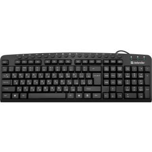 Клавиатура Defender Focus HB-470 RU, черный
