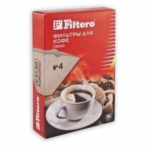 Фильтр для кофе Filtero №4/80, коричневый