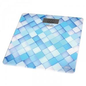 Весы напольные BBK BCS3001G, голубой