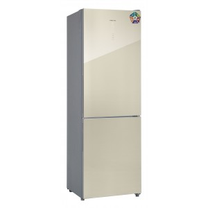 Холодильник HIBERG RFC-311DX NFGH, шампань