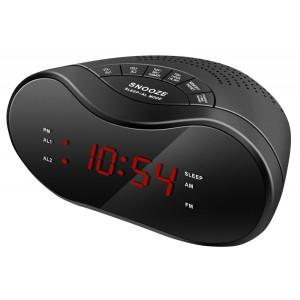 Радиобудильник HYUNDAI H-RCL160, черный