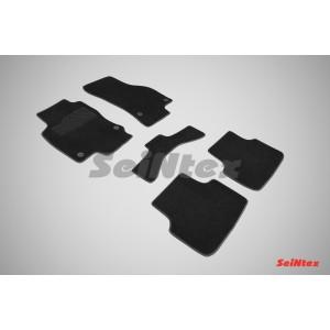 Ворсовые коврики LUX для Seat Leon III 2013-н.в.