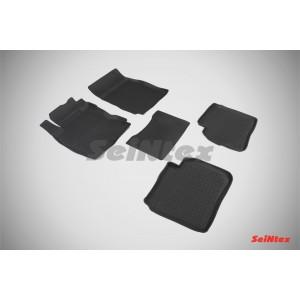 Резиновые коврики с высоким бортом для Nissan Note 2005-2009