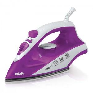 Утюг BBK ISE-1802, фиолетовый