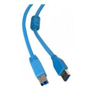 Кабель DEFENDER USB04-06PRO USB3.0 AM-BM 1.8м,зол.конт,2фер.фил   87446