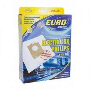 Пылесборники EURO Clean E-02 4 шт