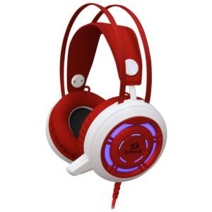 Наушники для ПК Defender Sapphire Redragon, красный/белый