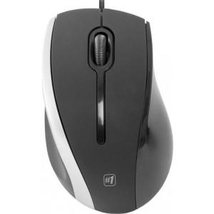 Мышь Defender NetSprinter MM-340, черный/серый