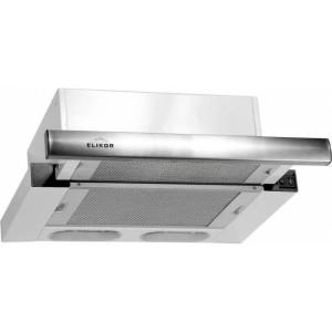 Встраиваемая вытяжка ELIKOR Интегра 45П-400-В2Л, белый/нержавеющая сталь