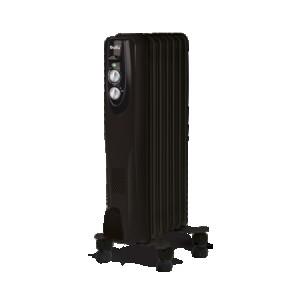 Масляный радиатор Ballu Classic BOH/CL-07BRN, черный