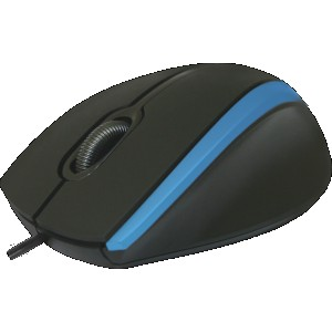 Мышь Defender NetSprinter MM-340, черный/синий