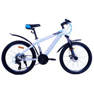 Велосипед Pioneer Tornado T 15'' white/black/blue