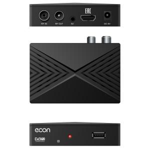 Цифровой ресивер ECON DTE-101