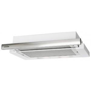 Встраиваемая вытяжка ELIKOR Интегра 50П-400-В2Л, белый/нержавеющая сталь