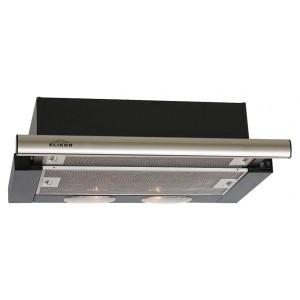 Встраиваемая вытяжка ELIKOR Интегра 50П-400-В2Л, черный/нержавеющая сталь