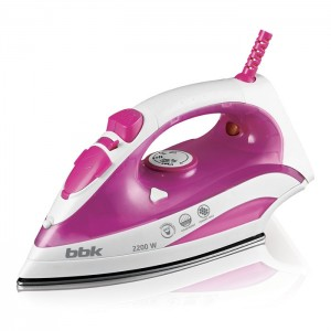 Утюг BBK ISE-2200, розовый