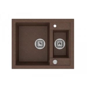 Мойка кварцевая TOLERO R-109 №817, коричневая