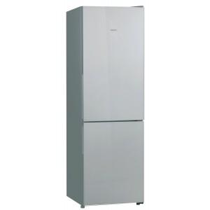 Холодильник HIBERG RFC-311DX NFGS, дымчатое серебристое стекло