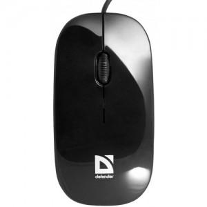 Мышь Defender NetSprinter 440, USB, черный/оранжевый