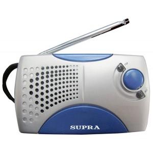 Радиоприемник SUPRA ST-113, серебро