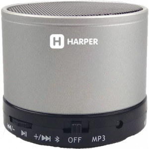 Портативная акустика Harper PS-012, серебристый