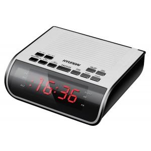 Радиобудильник HYUNDAI H-RCL100, белый