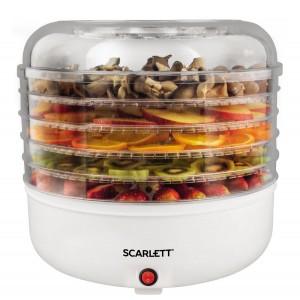 Сушилка для овощей и фруктов Scarlett SC-FD421005, белый