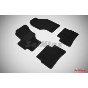 Ворсовые коврики LUX для Hyundai Verna 2005-2010