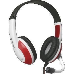 Наушники для ПК Defender Warhead HN-G120, красный/белый
