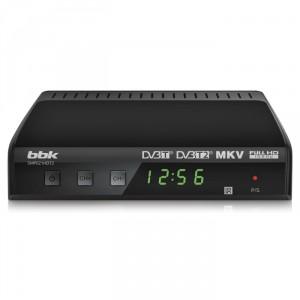 Цифровой ресивер BBK SMP021HDT2, темно-серый