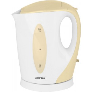 Чайник SUPRA KES-1702, белый/бежевый