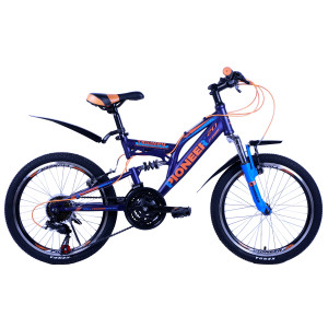 Велосипед Pioneer Triumph T 13'' darkblue/blue/orange