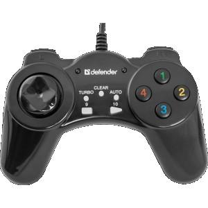 Геймпад Defender Vortex USB, 13 кнопок