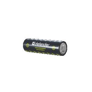 Батарейка алкалиновая LR6-4B AA, в блистере 4 шт DEFENDER