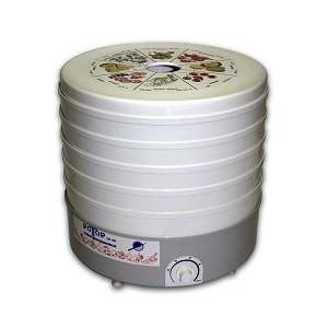 Сушилка для овощей и фруктов Дива-Р Ротор СШ-007-04, 5 поддонов